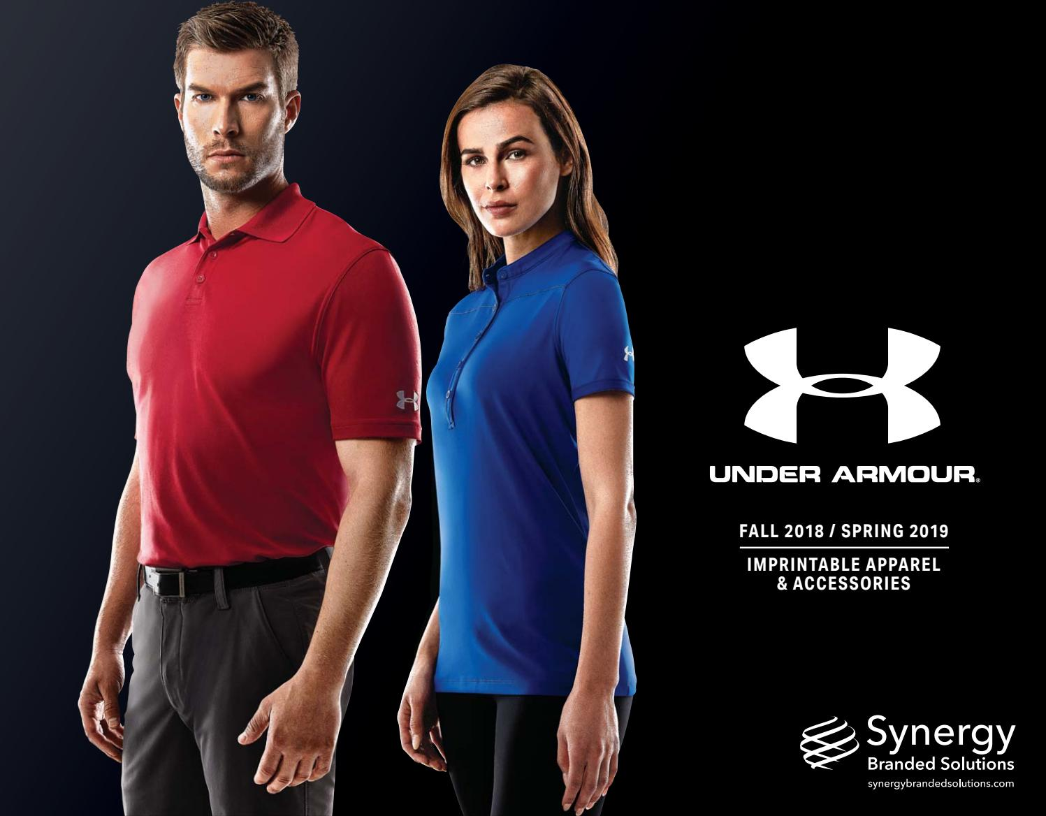 d5a63351cf2 SBS 2018 Under Armour Corporate Collection by Synergy Branded Solutions -  issuu