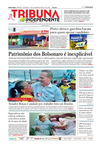 Edição número 3243 - 5 de outubro de 2018 by Tribuna Hoje - issuu 7ed6741a33303