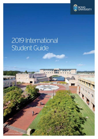 526f87313f7 International Student Guide 2019 by Bond University - issuu
