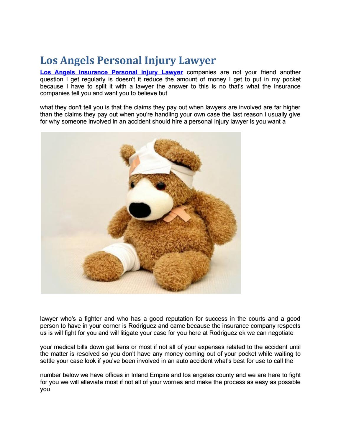 los angeles personal injury lawyer by West Coast Trial