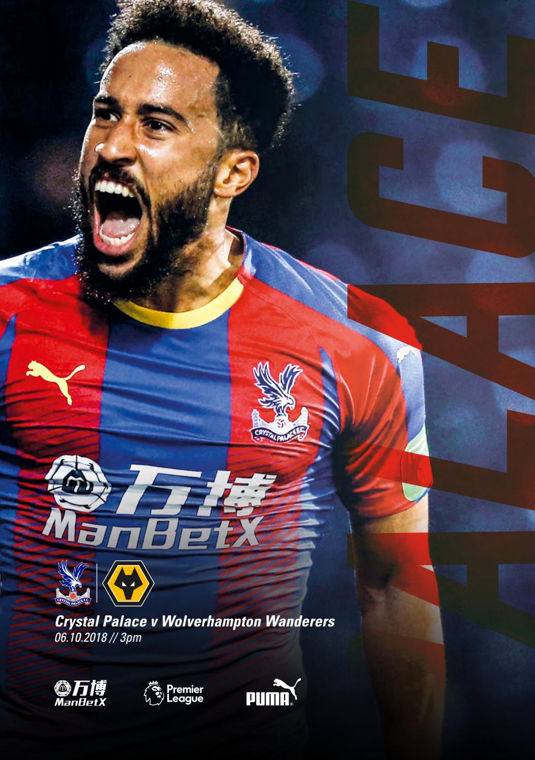 73a856da4ea CPFC v Wolves by Crystal Palace FC - issuu