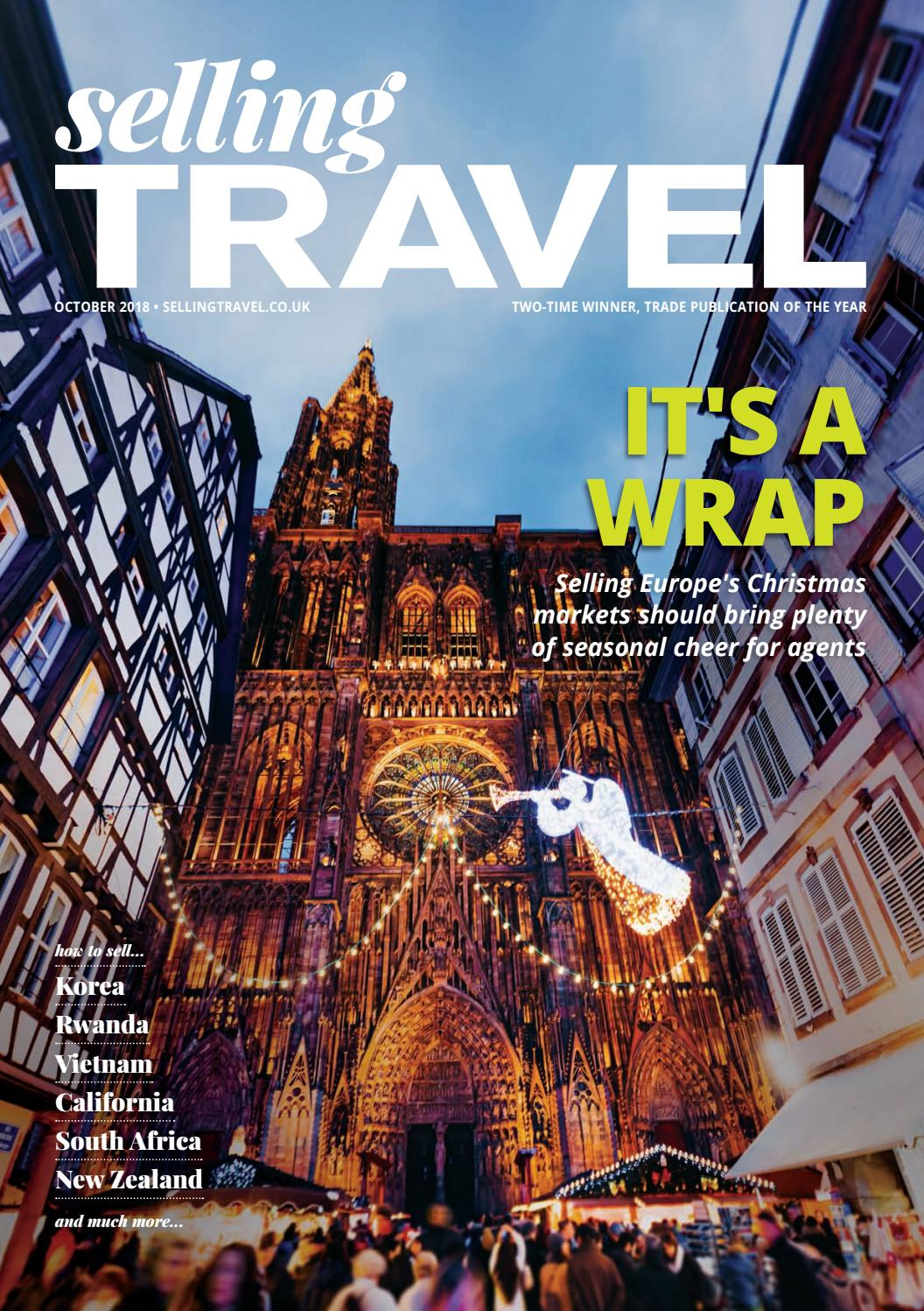 Selling Travel October 2018 By Bmi Publishing Ltd Issuu Esprit Sheet Set Geo Astec Super King Size