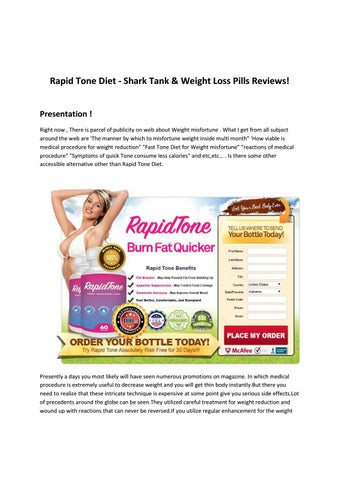 Http Perfect4health Com Rapid Tone Diet By Janetchua188 Issuu