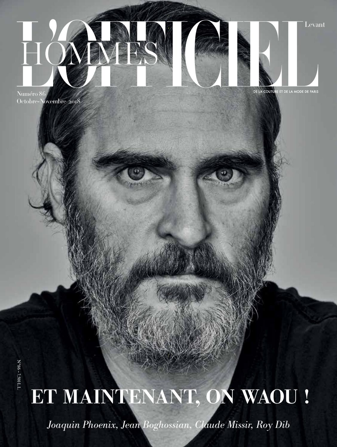 L Officiel-Hommes Levant, October-November, Issue 86 by L Officiel Levant -  issuu 85f92def70fe
