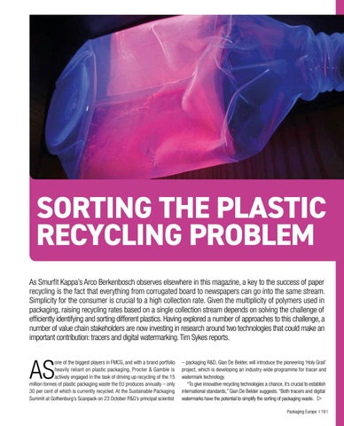 Page 21 of Sorting the Plastic Recycling Problem