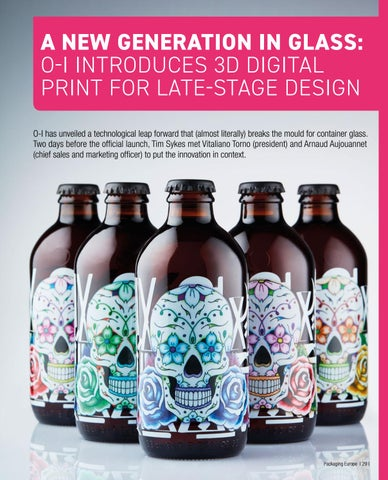 Page 31 of A New Generation in Glass:  O-I Introduces 3D Digital Print for Late-Stage Design