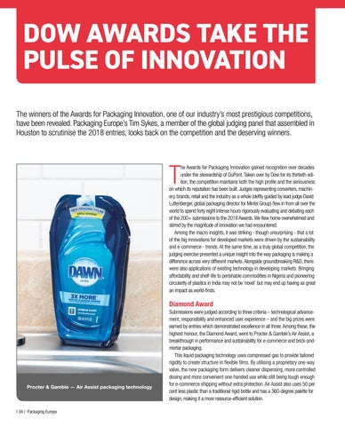 Page 36 of Dow Awards Take the Pulse of Innovation