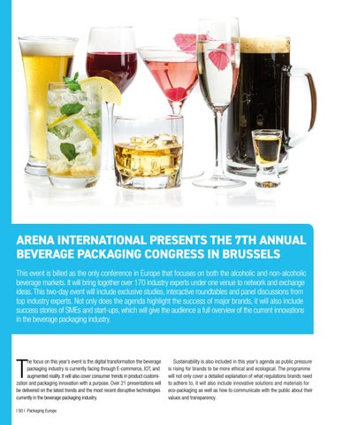 Page 52 of Arena International presents the 7th annual Beverage Packaging Congress in Brussels