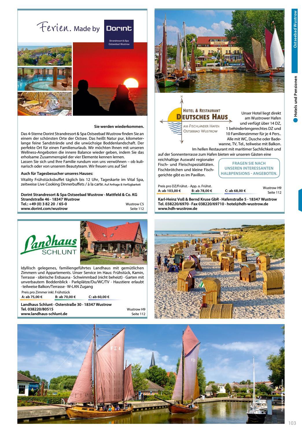 Ferienmagazin Fischland Darß Zingst 20 by Tourismusverband ...