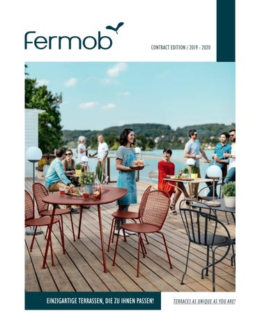 Fermob - Catalogue contract 2018 DE-UK by Fermob - issuu