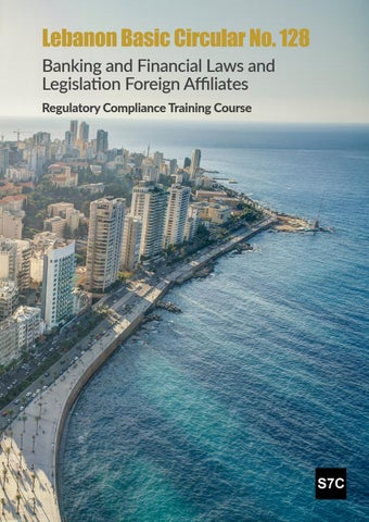 128 Banking And Financial Laws Legislation Foreign Affiliates Regulatory Compliance Training Course