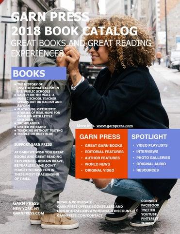 2018 Garn Press Book Catalogue by Garn Press - issuu