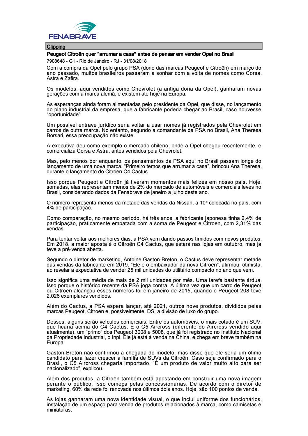 2a7ddc8ecf Clipping Fenabrave 03.09.2018 by MCE Comunicação - issuu