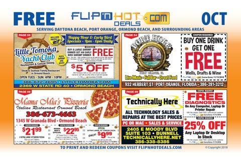 Flip Nhot Deals Coupon Book October