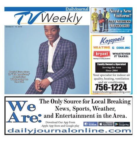 aa7bf8c3029e TVWeekly-October 6-12 2018 by Daily Journal Online - issuu