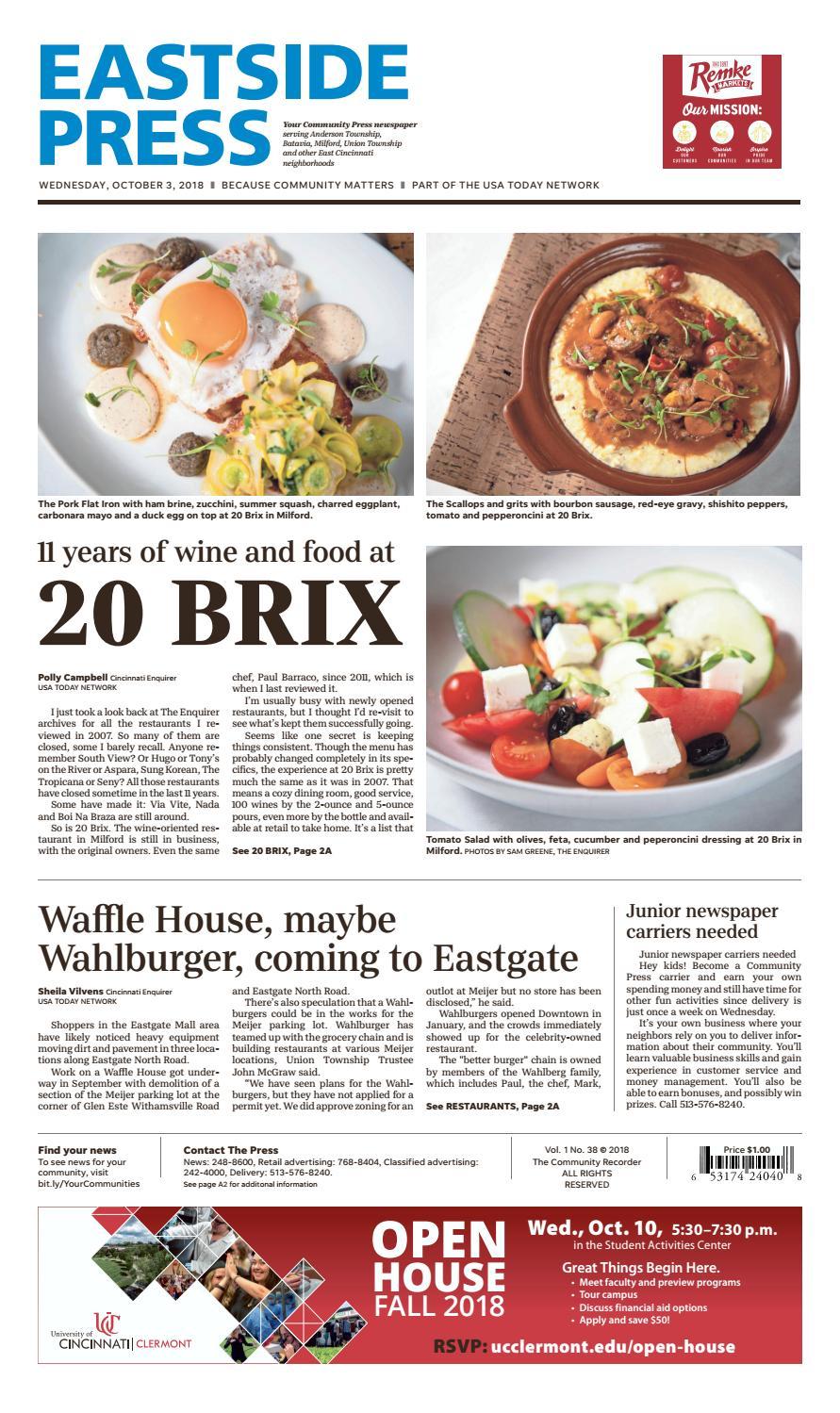 Eastside Press 10/03/18 by Enquirer Media - issuu