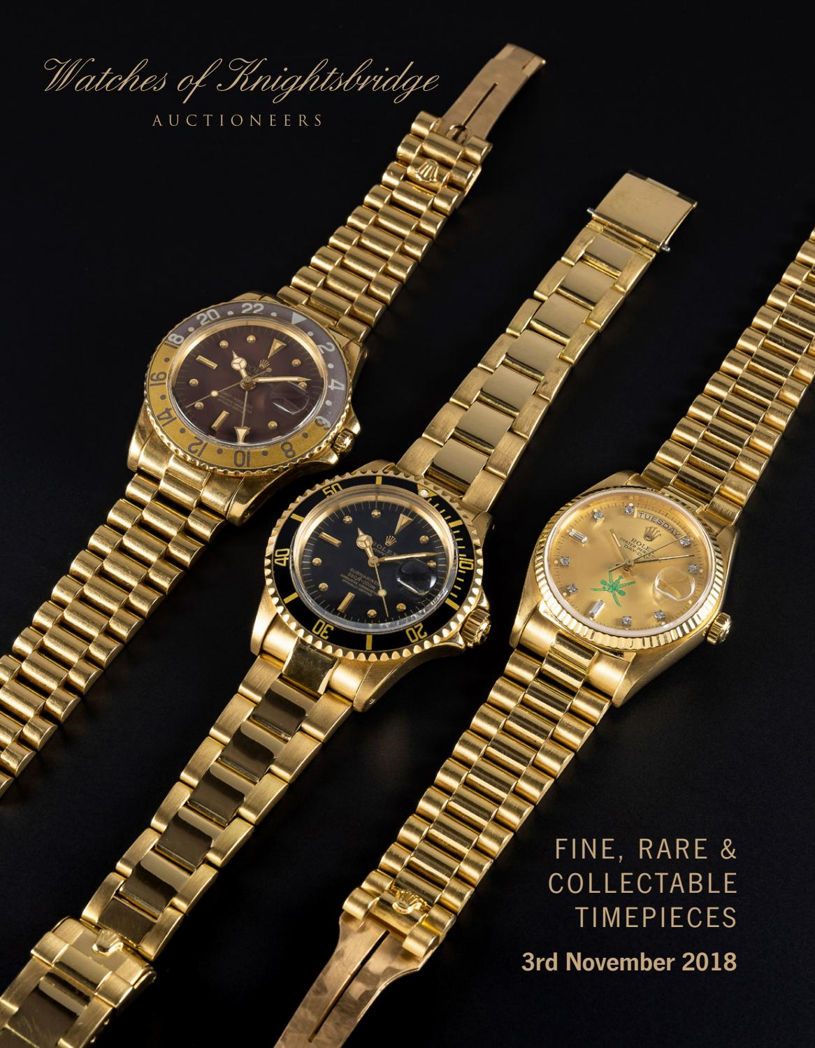 Watches Of Knightsbridge 3 November 2018 By Atgpark Issuu Rolex Parts Diagram For Cal 3035 1 Gent39s Datejust As It