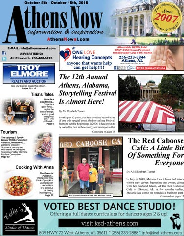 Athens Now October 5, 2018 by Athens Shop Local - issuu