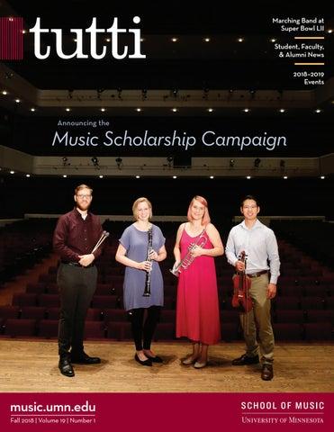 Tutti Magazine 2018-2019 by University of Minnesota School