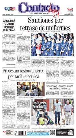 48a831f249146 Periódico Contacto hoy del 5 de octubre del 2018 by Contacto hoy - issuu
