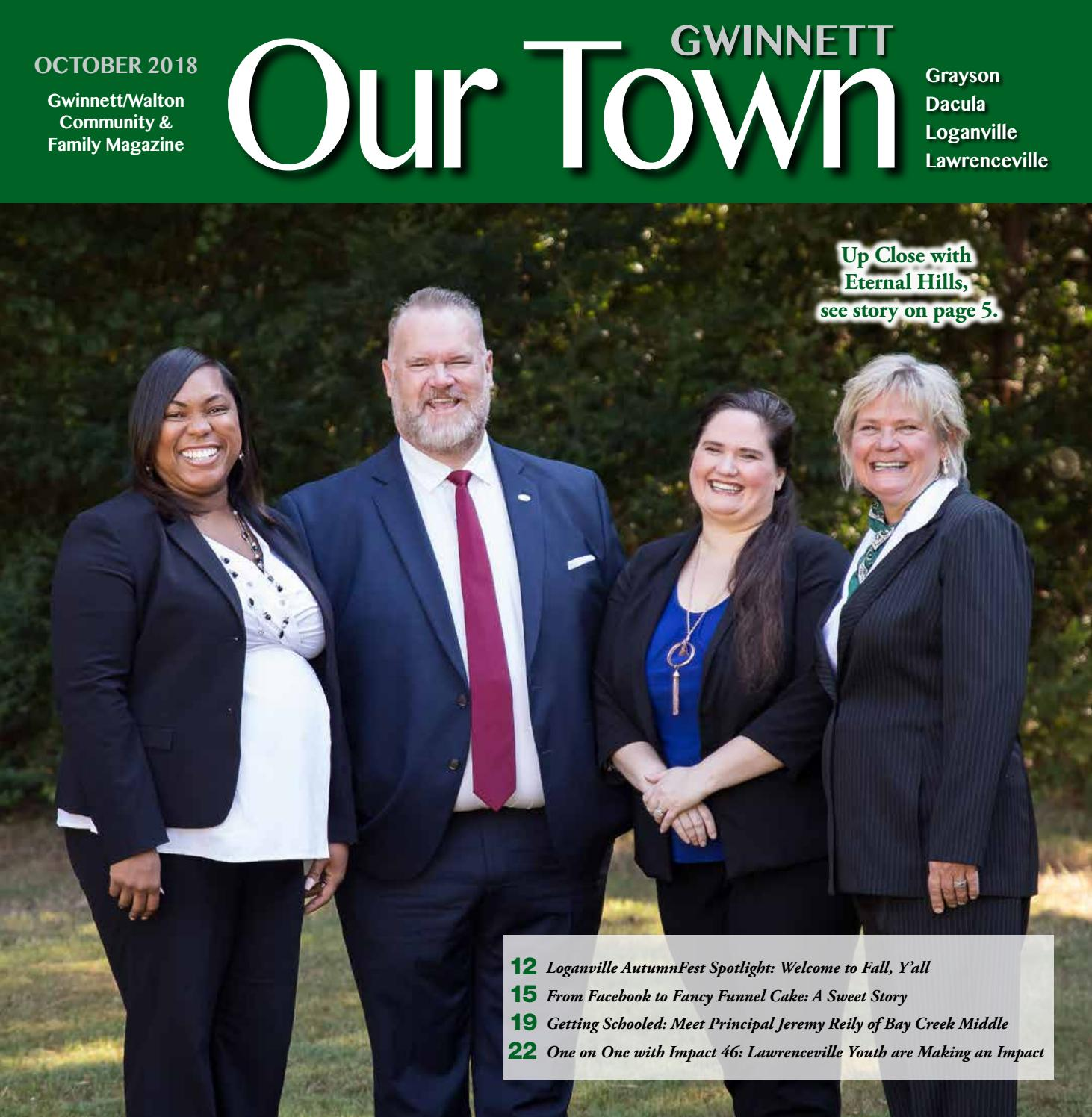 OCTOBER 2018: Our Town Gwinnett/Walton Monthly Magazine by Our Town