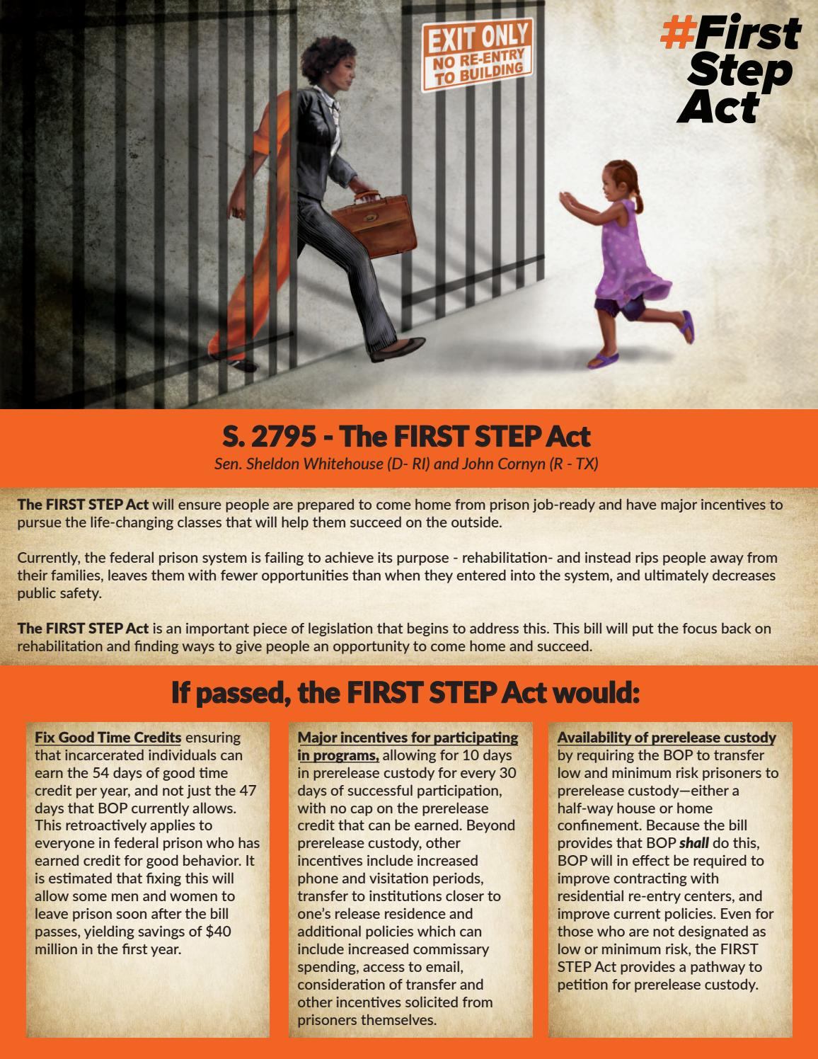 The FIRST STEP Act by Alexander Gudich - issuu