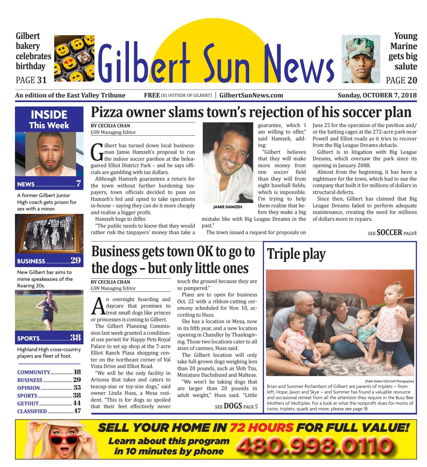 Gilbert Sun News October 7, 2018 by Times Media Group - issuu