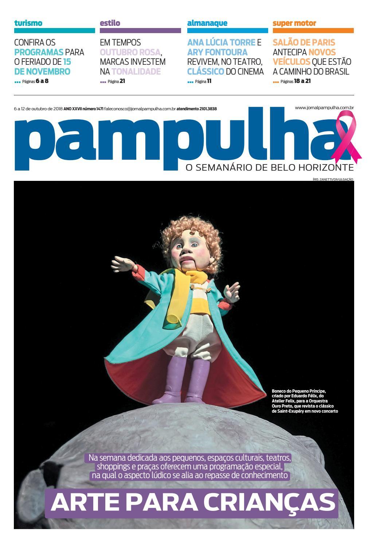 Pampulha - 6 a 12 de outubro de 2018 by Tecnologia Sempre Editora - issuu 31fb4feaab