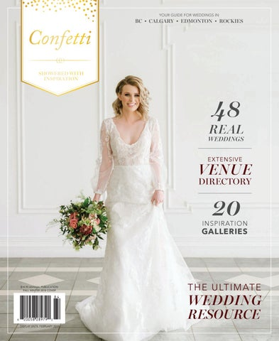 55e2298f5 Confetti Magazine - Fall/Winter 2018 by Calgary Bride - issuu