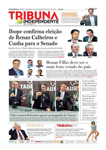 d8075c35eebe0 Edição número 3244 - 6 e 7 de outubro de 2018 by Tribuna Hoje - issuu