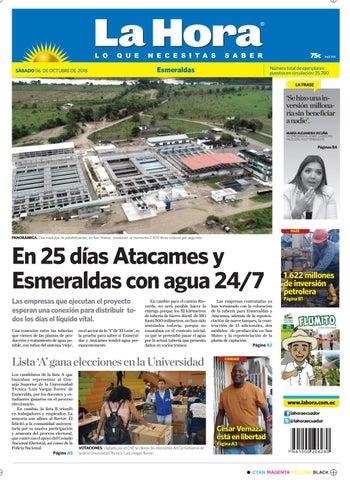 75aae37473ced Esmeraldas 06 de octubre de 2018 by Diario La Hora Ecuador - issuu