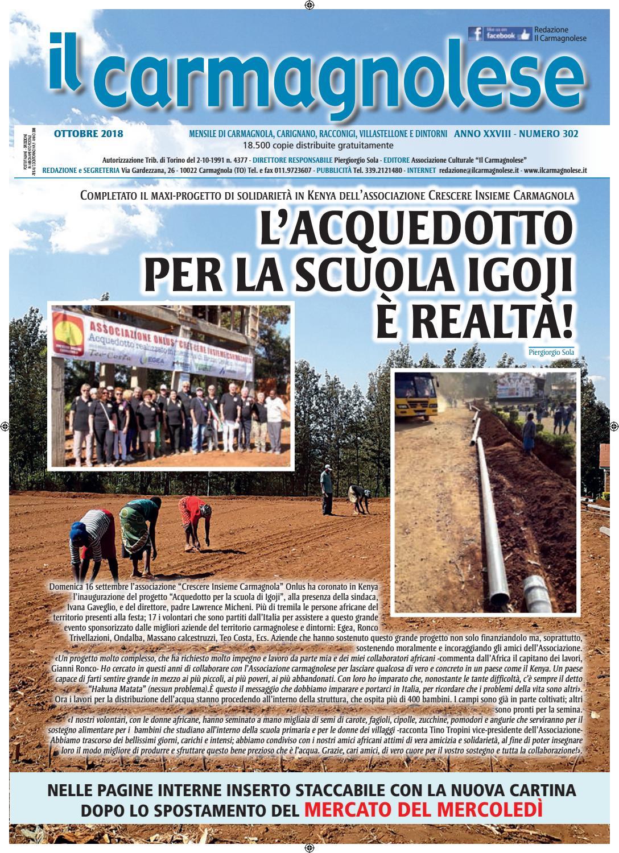 Il Carmagnolese Ottobre 2018 by Redazione Il Carmagnolese - issuu 848961b323da