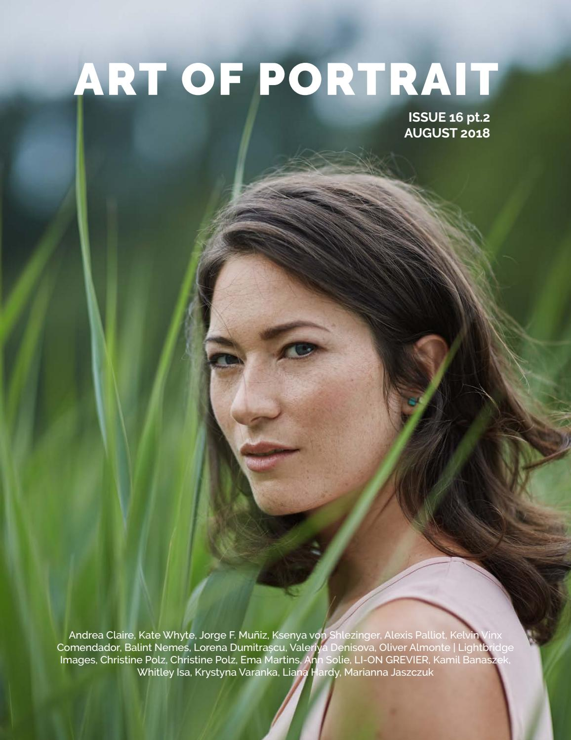 Angelina Muniz Nova art of portrait - issue 16 pt.2art of portrait magazine