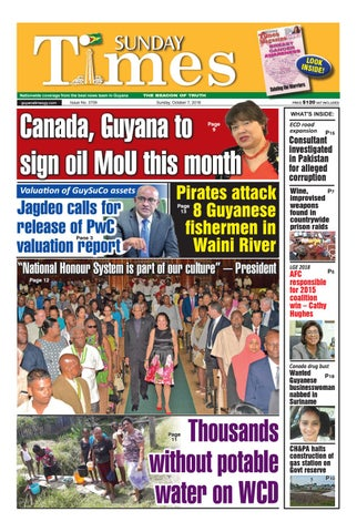 Guyana Times October 7, 2018 by Gytimes - issuu