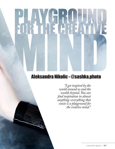 Page 167 of Playground for the Creative Mind - Aleksandra Nikolic
