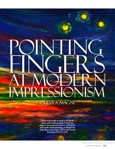 Page 83 of Pointing Fingers at Modern Impressionism - Chiara Magni