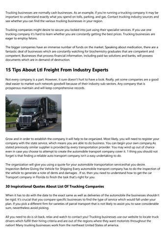 Become An Expert On What Trucking Company Pays The Most By