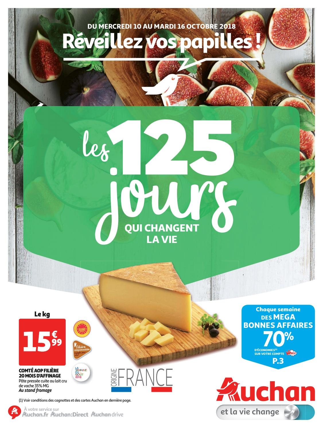 c750dcb64d59b Catalogue Auchan Hypermarché Du 10 Au 16 Octobre 2018 -  monsieurechantillons.com by Monsieurechantillons.fr - issuu