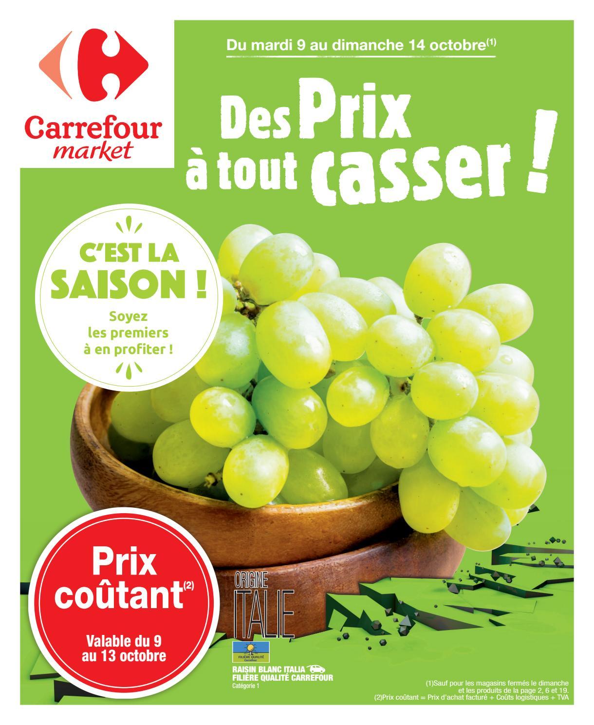 Catalogue Carrefour Market Du 09 Au 14 Octobre 2018 Monsieurechantillons Com By Monsieurechantillons Fr Issuu