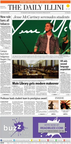 The Daily Illini: Volume 148 Issue 13 by The Daily Illini - issuu