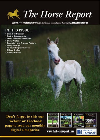 ef04f346cfd73 The Horse Report October 2018 by the horse report - issuu