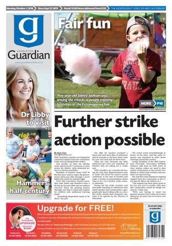 7e1556f5 Ashburton Guardian, Monday, October 1, 2018 by Ashburton Guardian ...