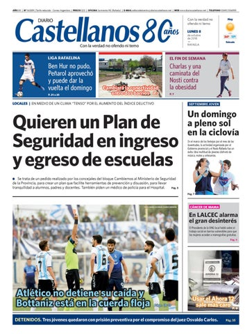 Diario Castellanos 08 10 18 by Diario Castellanos - issuu dfc3e4b57e56