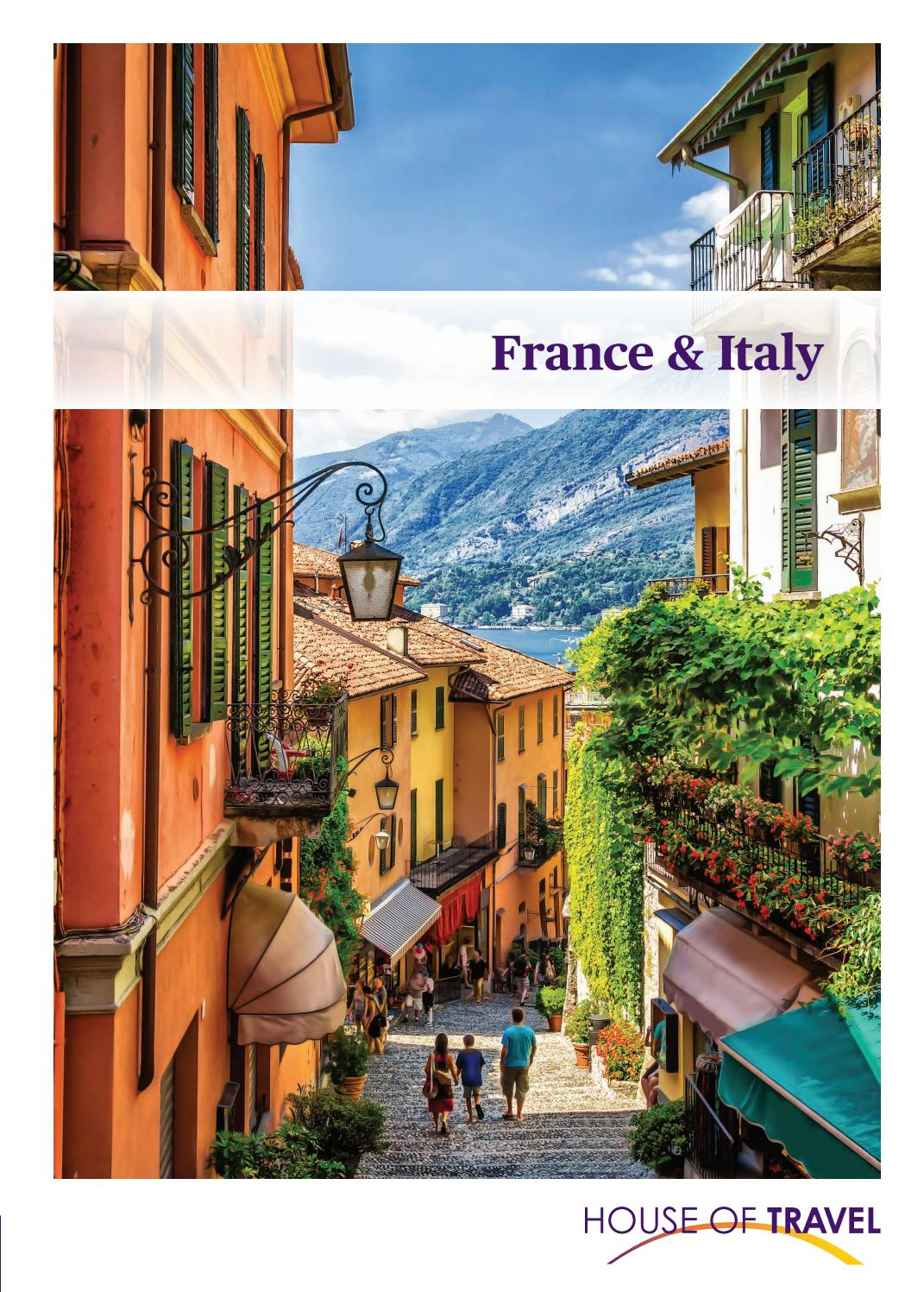 France Italy Brochure 2019 By House Of Travel Issuu