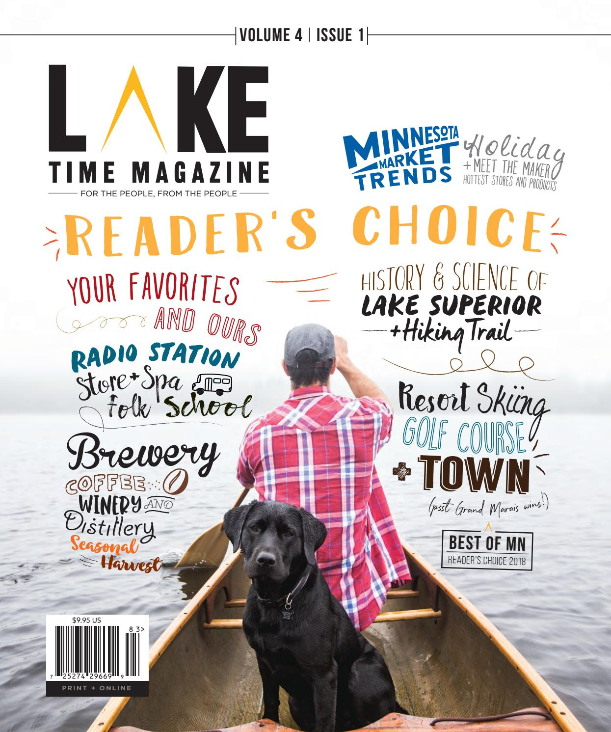 Lake Time Magazine - Issue 13 (Fall 2018)