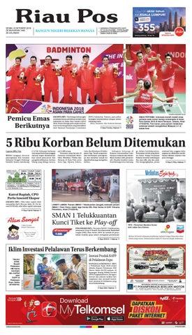Riau Pos Edisi 08 Oktober 2018 by Riau Pos - issuu 31e1c24387