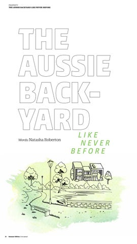 Page 12 of The Aussie Backyard Like Never Before