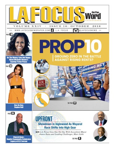 L A  Focus On The Word October 2018 by LA Focus Newspaper - issuu