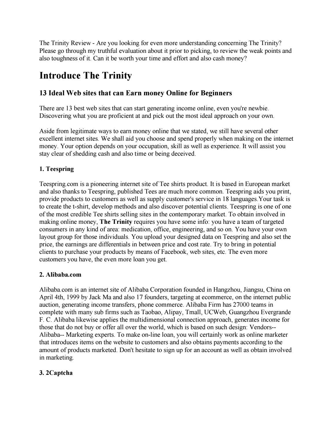 The Trinity Review should we grab it by richardlarue - issuu