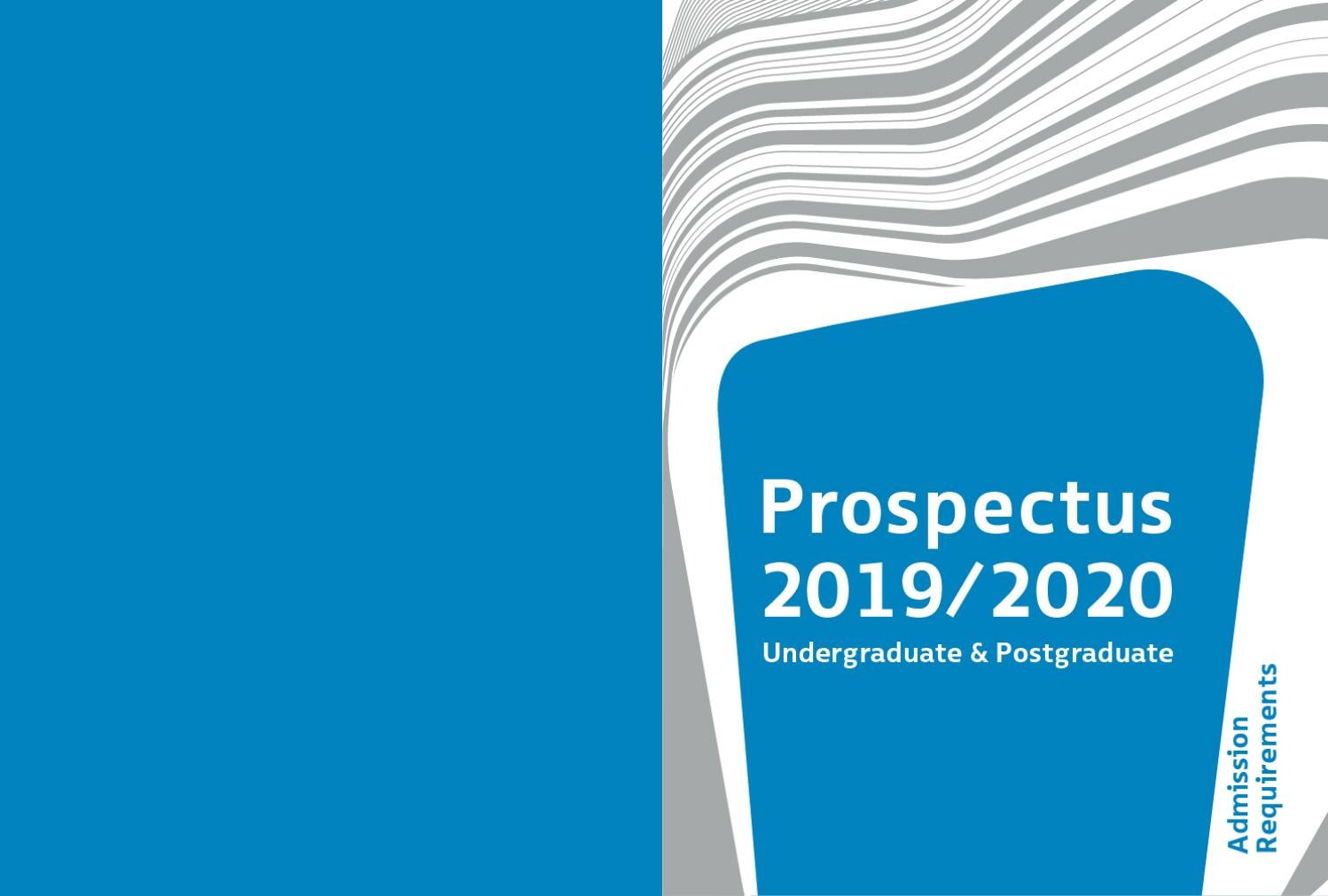 POLYU DESIGN 2019/2020 Prospectus - Admission Requirement by